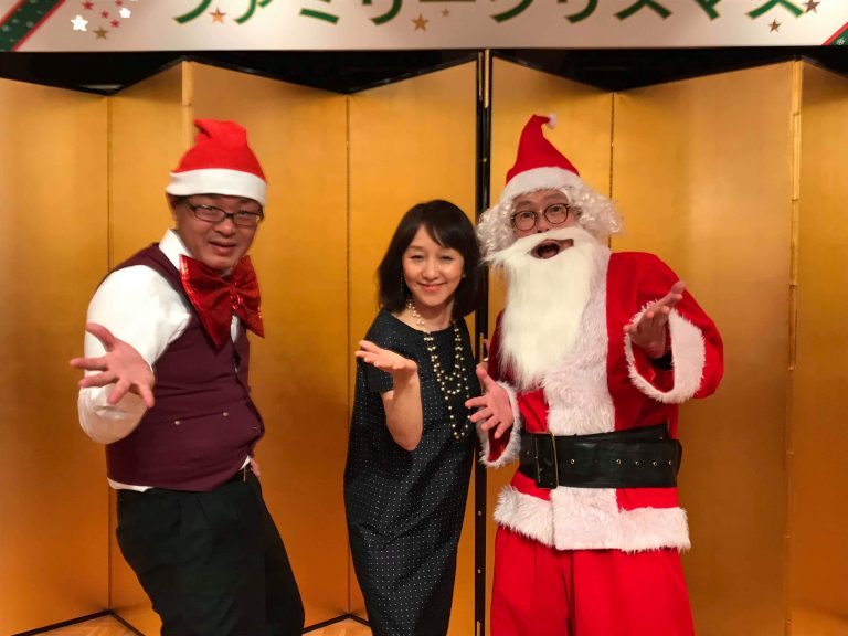 クリスマスマジックショー 事例