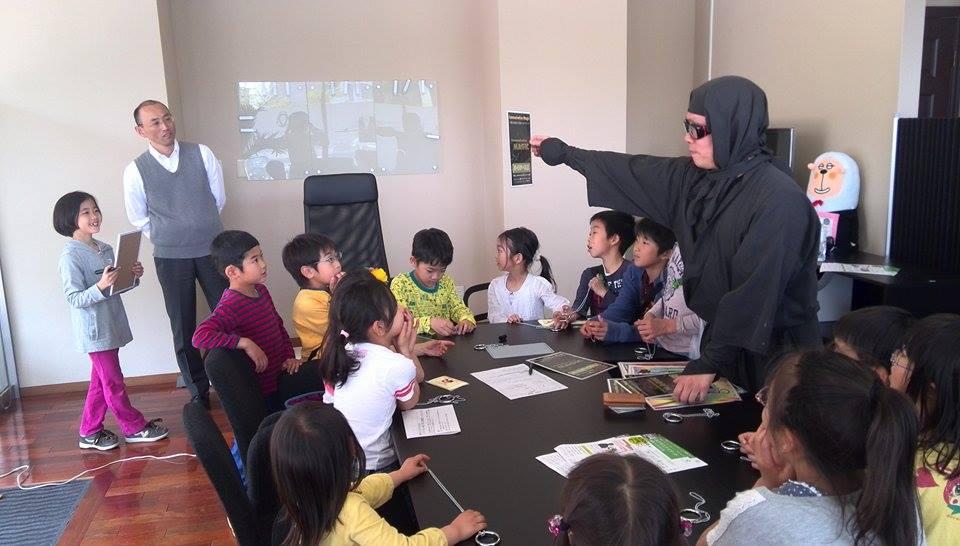 子ども向け出張マジックショー