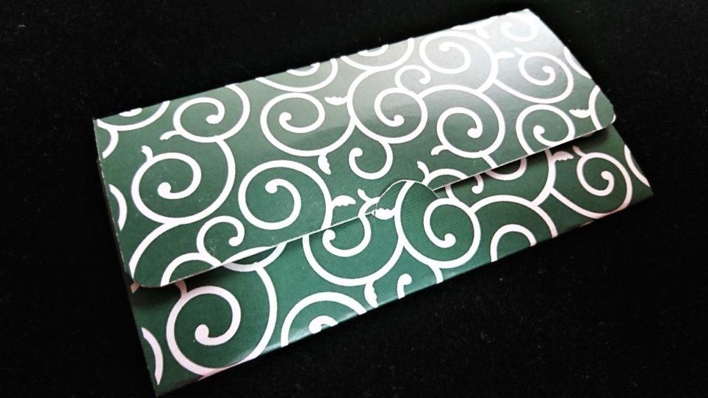 マスクケース 印刷 唐草模様